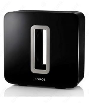 Sonos SUB (Black) Беспроводной сабвуфер для системы SONOS. 2 НЧ динамика черный