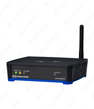 CRESTRON CENI-GWEXER-PWE infiNET EX® & ER Wireless Gateway w/PoE Injector – International Version