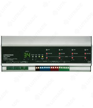 CRESTRON DIN-1DIM4 DIN Rail Dimmer, 1 feed, 4 channels
