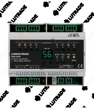 CRESTRON DIN-AO8 DIN Rail Analog Output Module