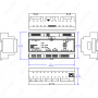 CRESTRON DIN-AP3 DIN Rail 3-Series® Automation Processor