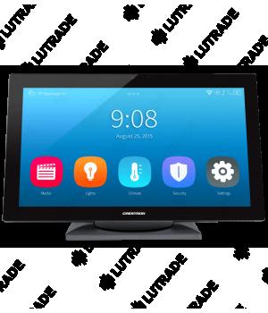 """CRESTRON TS-1542-TILT-C-W-S 15.6"""" HD Touch Screen w/DM 8G+® Input, Tabletop Tilt, White Smooth"""