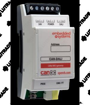 EMBEDDED SYSTEMS CAN-DALI Модуль-шлюз CANx<>DALI
