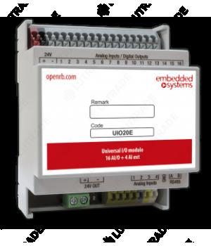 EMBEDDED SYSTEMS UIO20-LMA Мультипорт 20 универсальных каналов 16 ввод/вывод + 4 ввод