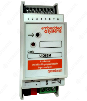 EMBEDDED SYSTEMS UIO82M KNX-Мультипорт 8 универсальных каналов ввода/вывода