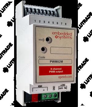 EMBEDDED SYSTEMS PWM82M 8-ми канальный ШИМ контроллер управления термоклапанами