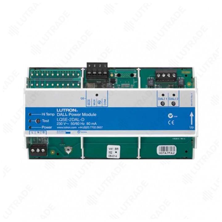 HWQS Модуль-шлюз QS link<>DALI (2 линии по 64 балласта каждая) (LQSE-2DAL-D)