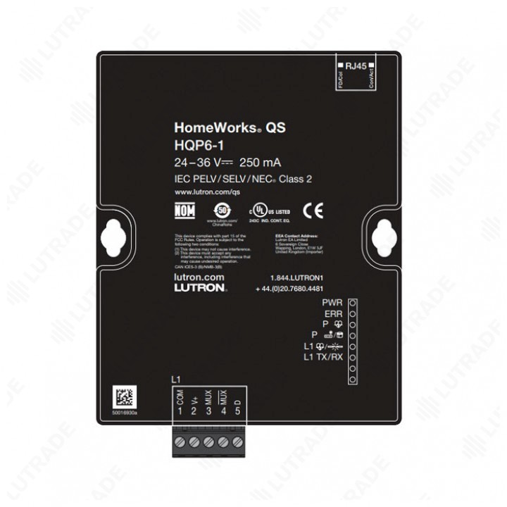 HWQS Процессор системы автоматизации (HQP6-1)