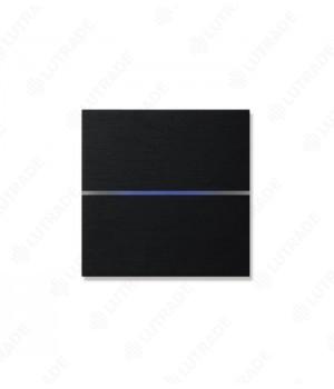 Basalte 201-03 Sentido front - dual - brushed black