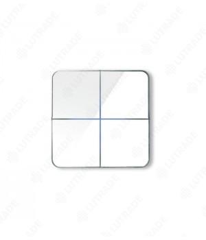 Basalte 204-04 Enzo front - quad - white glass