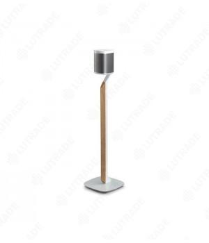 Flexson Premium Floor Stand for PLAY:1 - (Single) White/Oak  (шт) Для напольной установки Sonos PLAY:1 с деревянной отделкой 820 мм