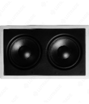 "HDL HDL-SIW82 2x8"" Настенные колонки, Bass,  240 W, 45-500HZ, 89dB@1W/1M, 8 Ohm Cutout: 260*450mm,Mounting depth: 91mm."