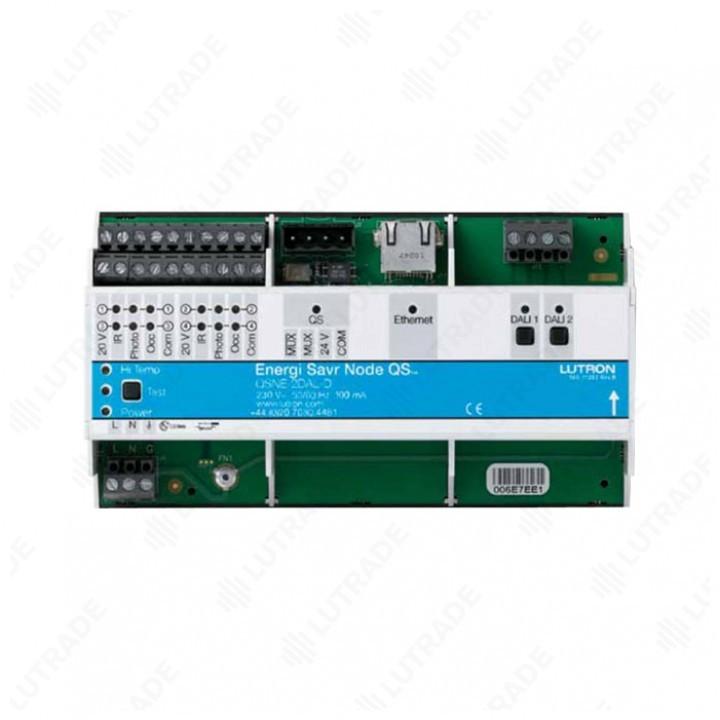 ESNQS Модуль-шлюз QS link<>DALI (2 линии по 64 балласта каждая) (QSNE-2DAL-D)